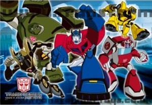 Autobot Transformers Animated Jigsaw