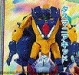 beast wars two - lucky draw custom colour blue tasmania kid image 1