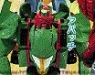 beast wars two - lucky draw custom colour green apache image 1