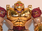 Beast Wars Metals - Lucky Draw Gold Convoy