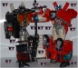 transformers car robots - lucky draw black super fire convoy image 23