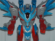 Transformers Galaxy Force - Lucky Draw Blue Flame Convoy