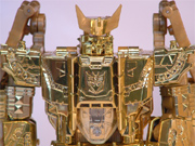 Transformers Galaxy Force - Lucky Draw Gold Master Galvatron