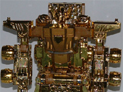 Transformers Micron Legend - Lucky Draw Gold Convoy