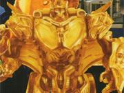 Transformers Movie - TV Magazine Lucky Draw - Gold Protoform Optimus Prime