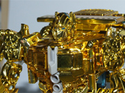 Transformers Movie - Lucky Draw - Gold Voyager Class Optimus Prime