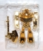 transformers animated - lucky draw gold optimus prime deluxe class image 16