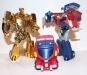 transformers animated - lucky draw gold optimus prime deluxe class image 22