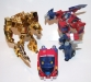 transformers animated - lucky draw gold optimus prime deluxe class image 23