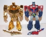 transformers animated - lucky draw gold optimus prime deluxe class image 25
