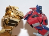 transformers animated - lucky draw gold optimus prime deluxe class image 27