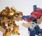 transformers animated - lucky draw gold optimus prime deluxe class image 28