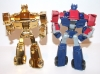 transformers animated - lucky draw gold optimus prime deluxe class image 29