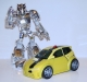 transformers animated - bumblebee silver version image 49