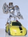 transformers animated - bumblebee silver version image 50
